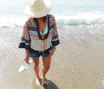 ON THE BEACH…WITH ROSEGAL